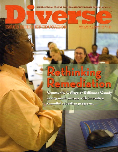 Diverse: Issues In Higher Education Cover - 7/2/2015