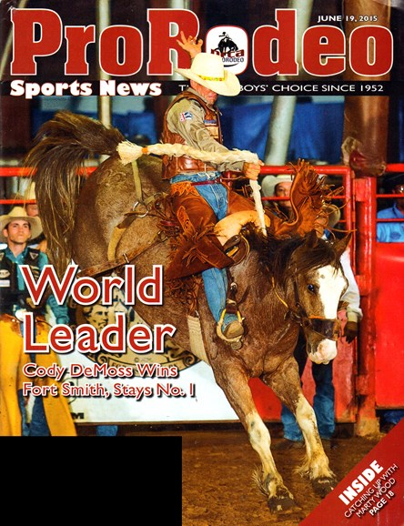 Pro Rodeo Sports News Cover - 7/19/2015