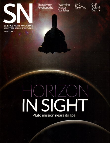 Science News Cover - 6/27/2015