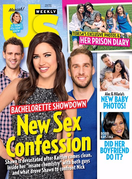 Us Weekly Cover - 7/13/2015