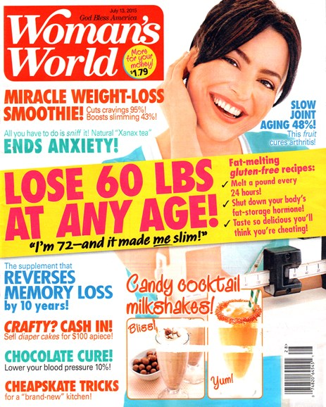 Woman's World Cover - 7/13/2015