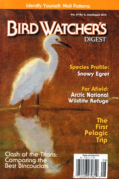 Bird Watcher's Digest Cover - 7/1/2015