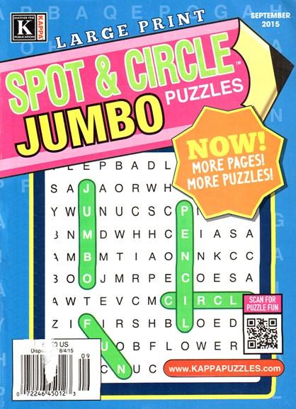 Spot & Circle Jumbo Cover - 9/1/2015
