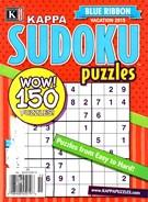 Blue Ribbon Kappa Sudoku Puzzles Magazine 5/1/2015