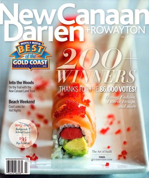 New Canaan-Darien Cover - 7/1/2015
