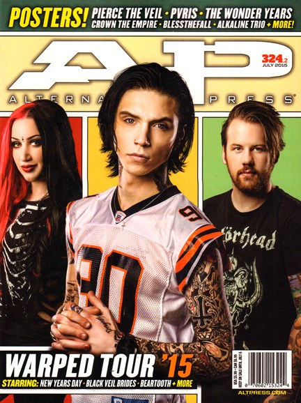 Alternative Press Cover - 7/1/2015