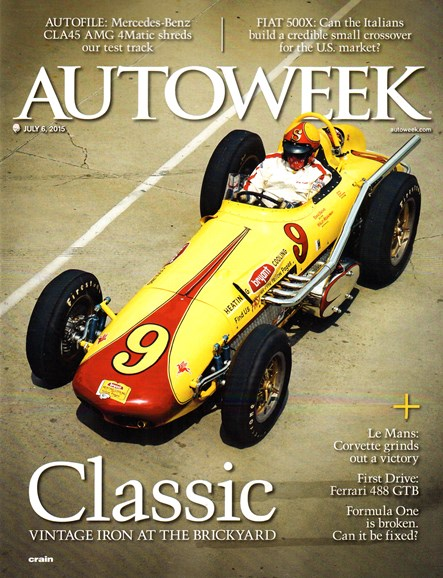 Autoweek Cover - 7/6/2015