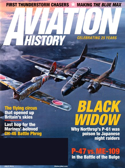 Aviation History Cover - 7/1/2015