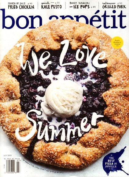 Bon Appétit Cover - 7/1/2015