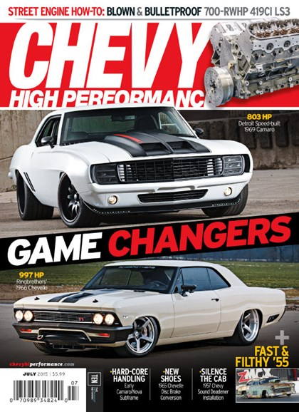 Chevy High Performance Cover - 7/1/2015