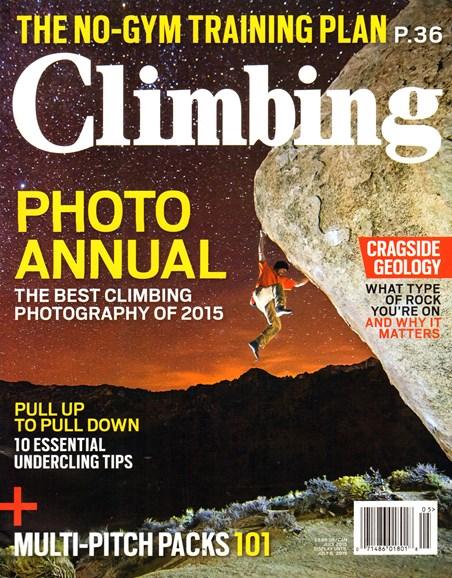 Climbing Magazine Cover - 7/1/2015