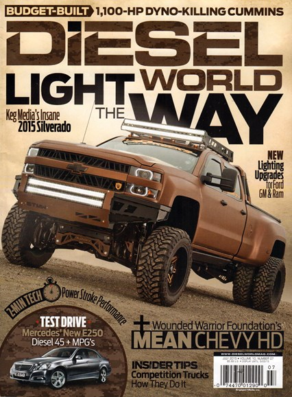 Diesel World Cover - 7/1/2015