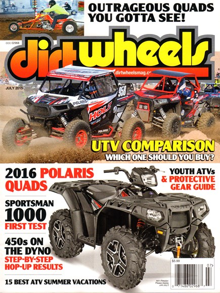 Dirt Wheels Cover - 7/1/2015