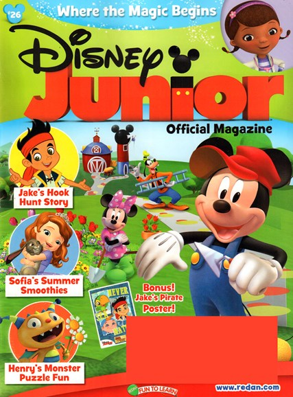 Disney Junior Cover - 7/1/2015