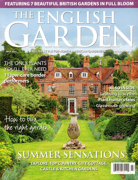 The English Garden Cover - 7/1/2015
