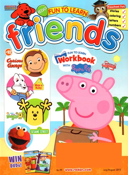 Preschool Friends Cover - 7/1/2015
