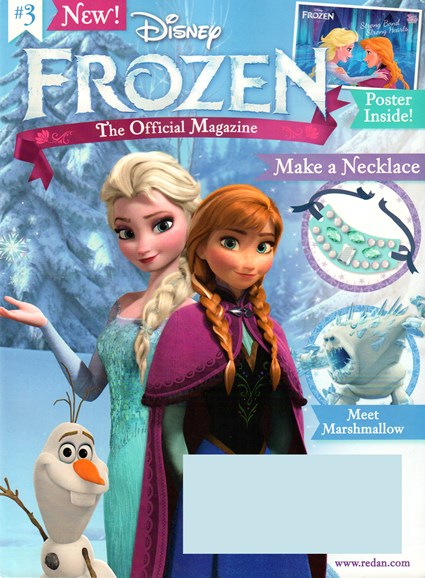 Disney Frozen Cover - 7/1/2015