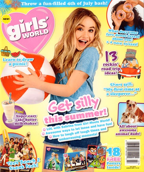 Girls' World Cover - 7/1/2015