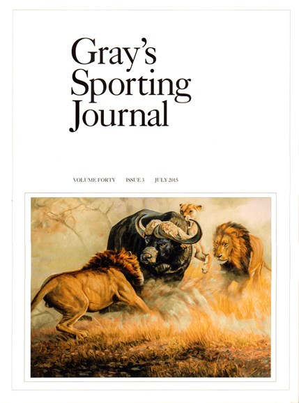 Gray's Sporting Journal Cover - 7/1/2015
