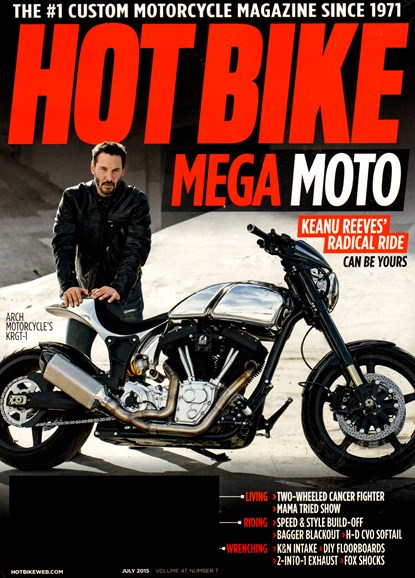 Hot Bike Cover - 7/1/2015