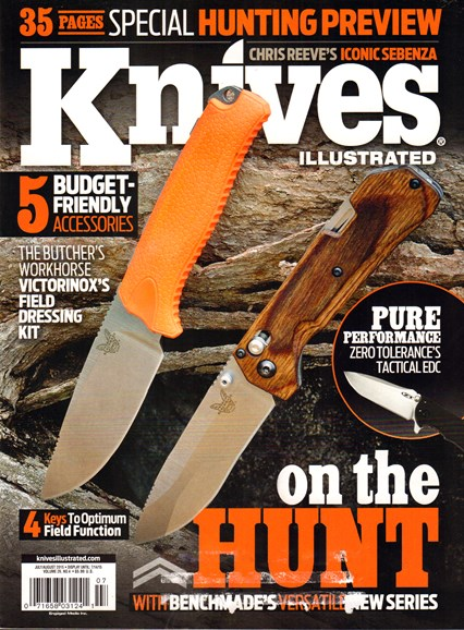 Knives Illustrated Cover - 7/1/2015