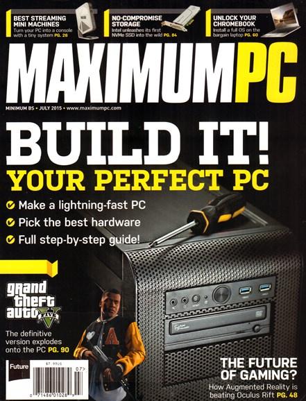 Maximum PC Cover - 7/1/2015