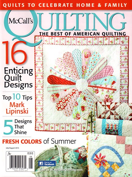 McCall's Quilting Cover - 7/1/2015