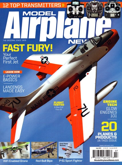 Model Airplane News Cover - 7/1/2015