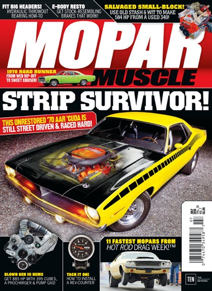Mopar Muscle Cover - 7/1/2015