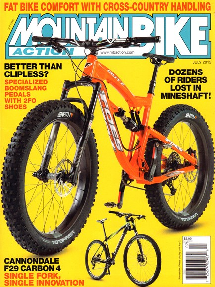 Mountain Bike Action Cover - 7/1/2015