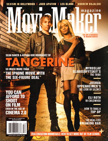 Moviemaker Magazine Cover - 7/1/2015