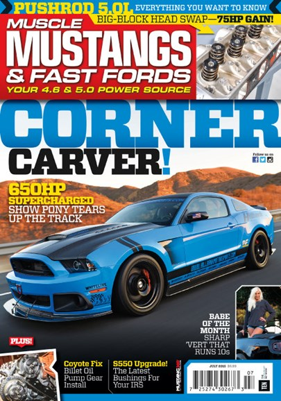 Muscle Mustangs & Fast Fords Cover - 7/1/2015