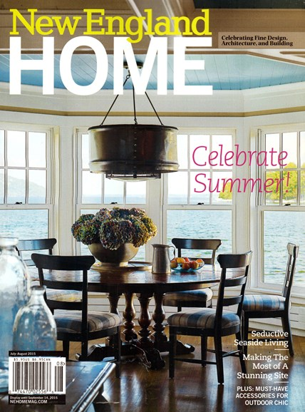 New England Home Cover - 7/1/2015