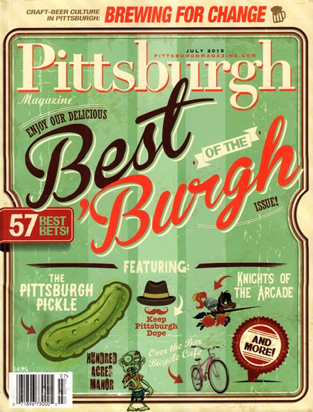 Pittsburgh Magazine Cover - 7/1/2015