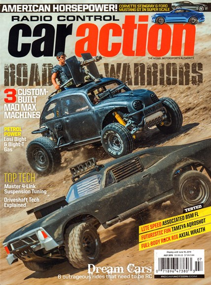 Radio Control Car Action Cover - 7/1/2015