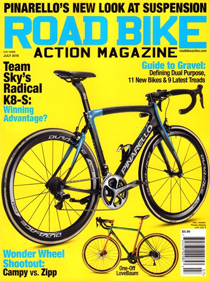 Road Bike Action Cover - 7/1/2015