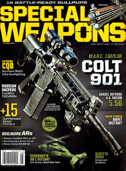 Special Weapons for Military & Police Cover - 7/1/2015