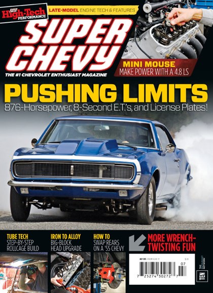 Super Chevy Cover - 7/1/2015