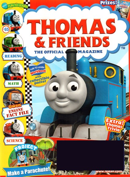 Thomas & Friends Cover - 7/1/2015