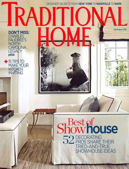 Traditional Home Cover - 7/1/2015