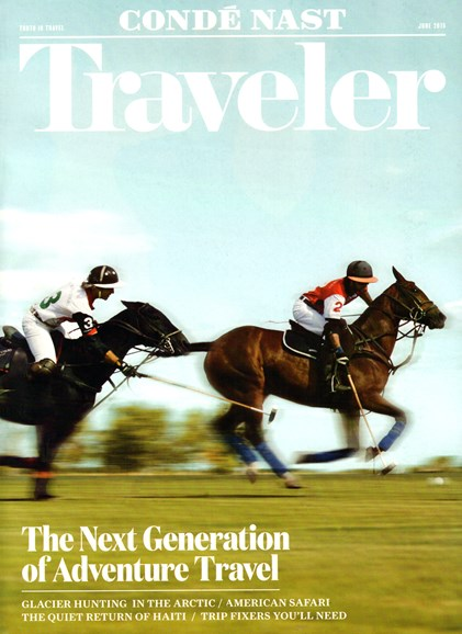 Condé Nast Traveler Cover - 6/1/2015