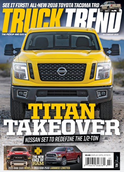 Truck Trend Cover - 7/1/2015