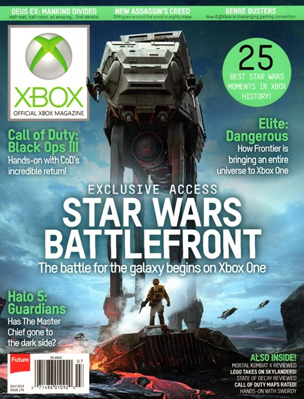 Official Xbox Magazine Cover - 7/1/2015
