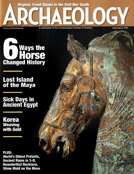 Archaeology Cover - 7/1/2015