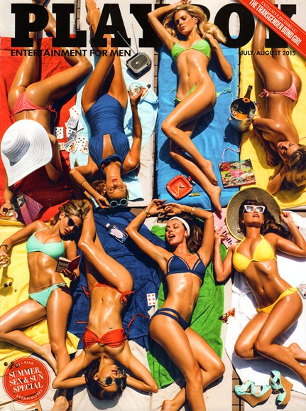 Playboy Cover - 7/1/2015