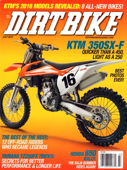 Dirt Bike Cover - 7/1/2015