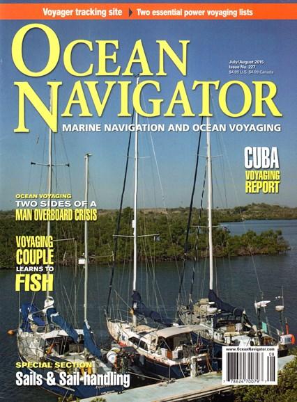 Ocean Navigator Cover - 7/1/2015