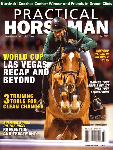 Practical Horseman Cover - 7/1/2015