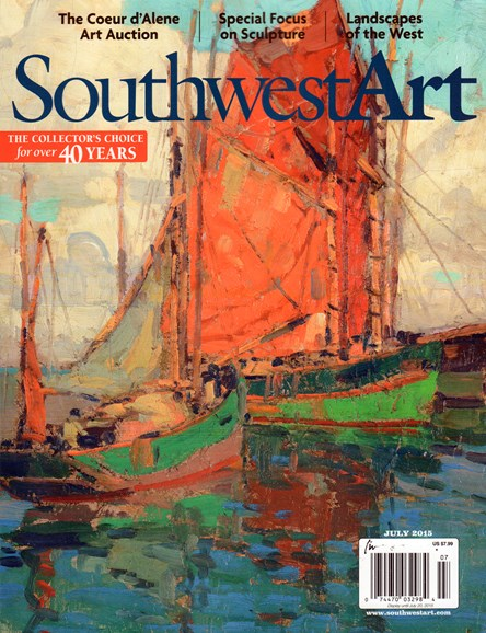 Southwest Art Cover - 7/1/2015