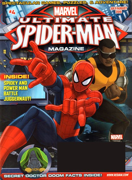 Marvel Spider-Man Cover - 7/1/2015
